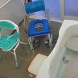 浴室内の介護用具